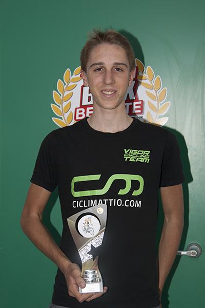 Pietro Olocco 3° classificato (Foto Kia Castelli)