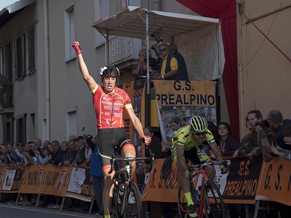Antonio Puppio vince a Besnate (Foto Kia Castelli)
