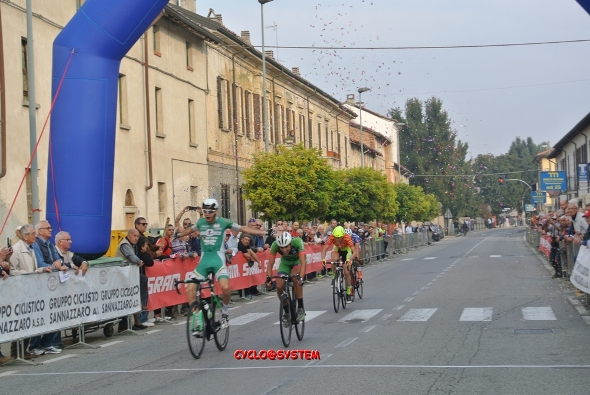 Foto Cyclo@system arrivo Ferrera Erbognone
