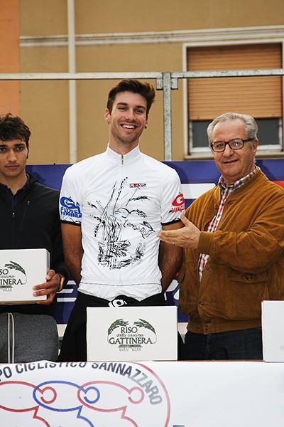 """Mario Meris vince anche la classifica finale dello challange """"Terre del Riso"""" (Foto Kia)"""