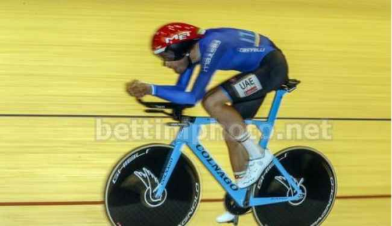 Ganna in azione (Foto Bettini)