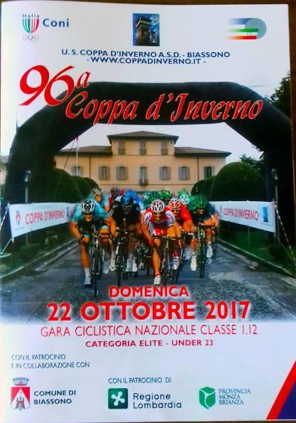 21.10.2017 - LOCANDINA 96^ COPPA D'INVERNO