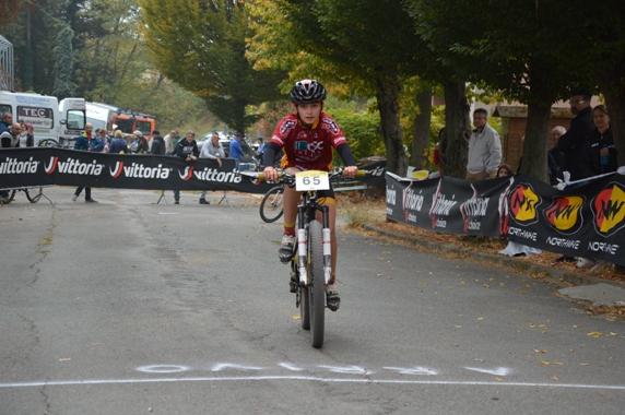 G3 Femminile - Sara Bertino (Team Cicloteca) Vincitrice della gara (Foto Mollero)