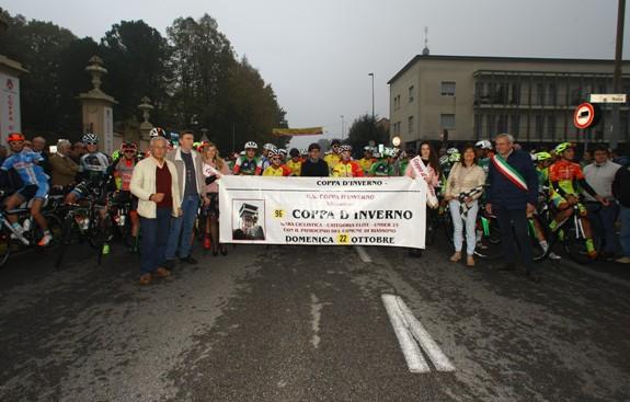 Schieramento di partenza della 96° Coppa D'Inverno (Foto Berry)
