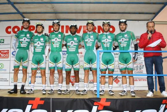 Squadra Delio Gallina Colosio Eurofeed (Foto Berry)