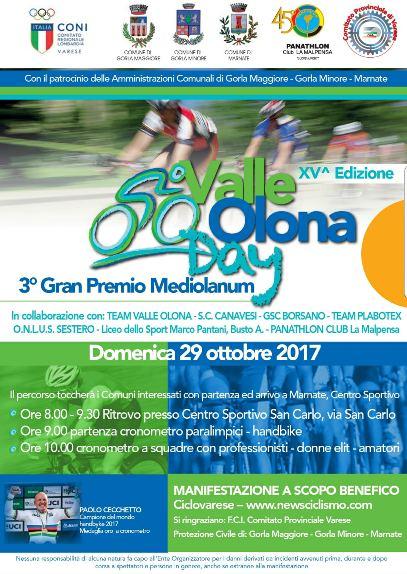 24.10.2017 - VALLE OLONA DAY LOCANDINA