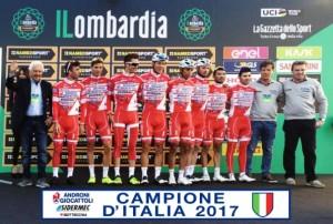 31.10.2017 - ANDRONI -SQUADRA CAMPIONE D'ITALIA