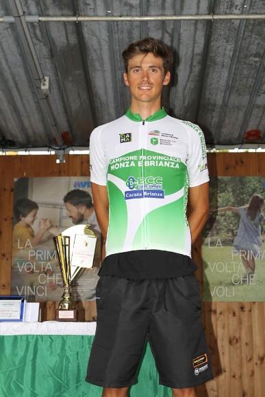 Kevin Molinari campione provinciale U23 di Monza&Brianza (Foto Rodella)