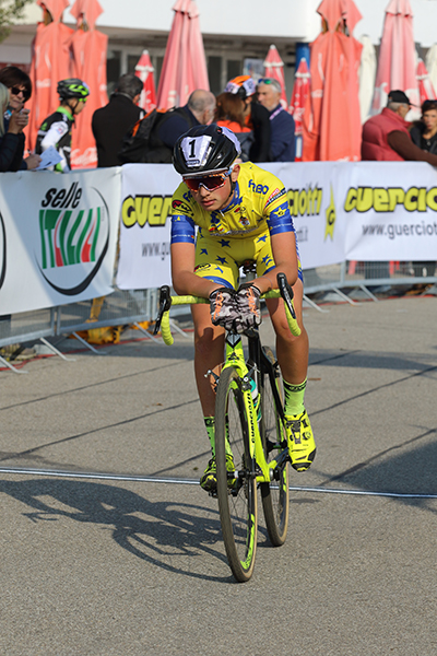 Gabriel Fede 3° classificato (Foto Kia Castelli)