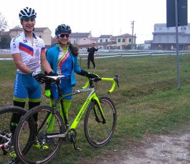 Filippo Borello vincitore gara Esordienti 2^ anno con la sorella Carlotta a Marcaria (Foto Nastasi)