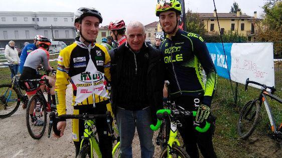Sala e Todaro con Gino Bortoluzzo a Marcaria (Foto Nastasi)