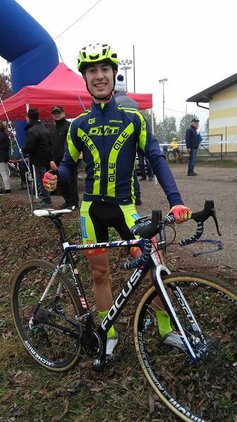 Luca Cibrario vincitore gara Elite-U23 (Foto Nastasi)