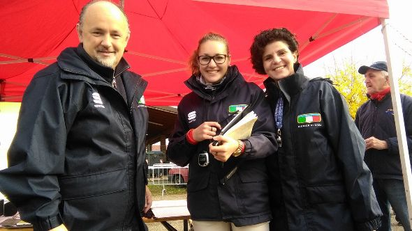 La Giuria FCI di Pasturana col Presidente Luca Botta (Foto Nastasi)