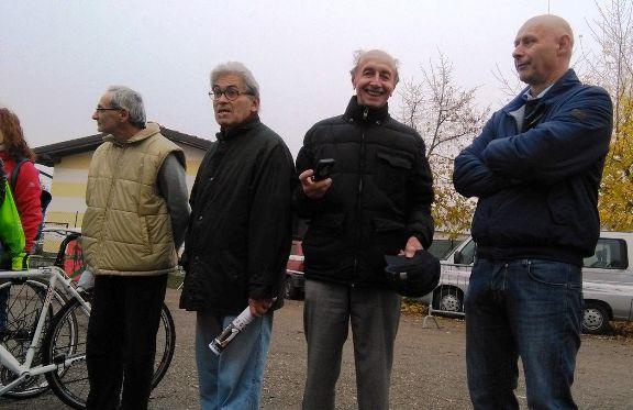 da sinistra, Malvisi, Ghioldi ed Elio di Mandrogno (Foto Nastasi)