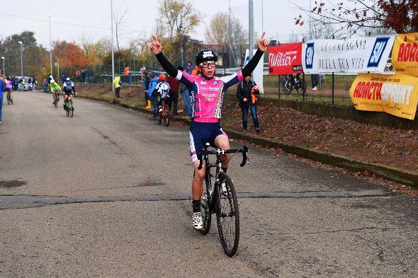 Milo Marcolli della Polisportiva Besanese, G6, vincitore della sua gara. 7^ vittoria consecutiva. (Foto Nastasi)