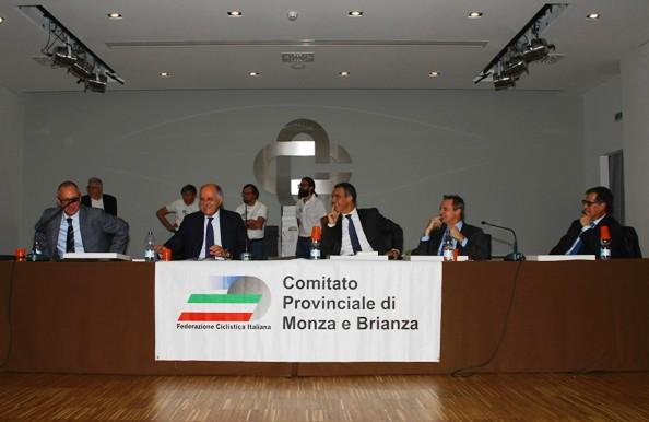 Tavolo Autorità^ col Presidente Di Rocco (Foto Berry)