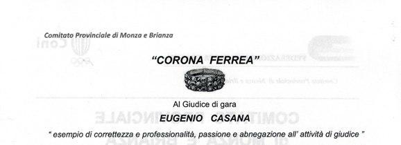 18.11.2017 -  corona ferrea ad Eugenio Casana