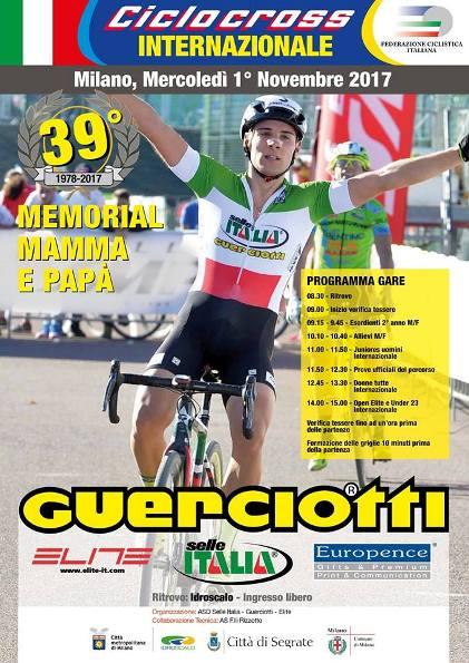 19.10.2017 - Locandina 39^ Memorial Mamma e Papa Guerciotti