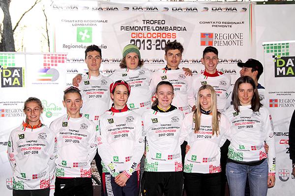 Tutti i Capiclassifica del Trofeo Piemonte-Lombardia 7^ tappa (Foto Kia Castelli)