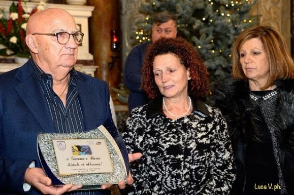 Flavia e Giacomo, Genitori di Michele Scarponi (Foto Luca Venturi)
