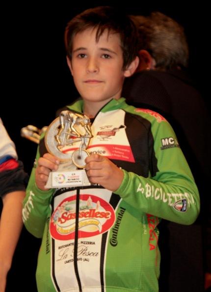 Francesco Meo, G3M de La Bicicletteria, secondo classificato (Foto Cesare Galeazzi)
