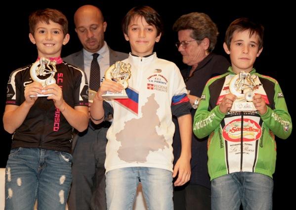 Una premiazione maschile (Foto Cesare Galeazzi)