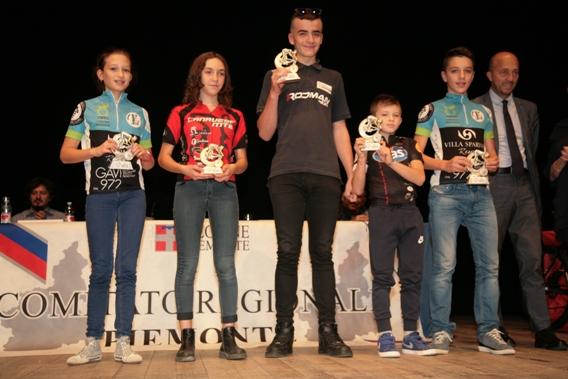 Premiazioni MTB (Foto Cesare Galeazzi)