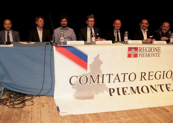 Tavolo della Presidenza (Foto Cesare Galeazzi)