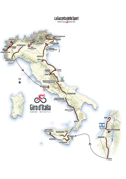 GITO D'ITALIA NR. 101 DEL 2018