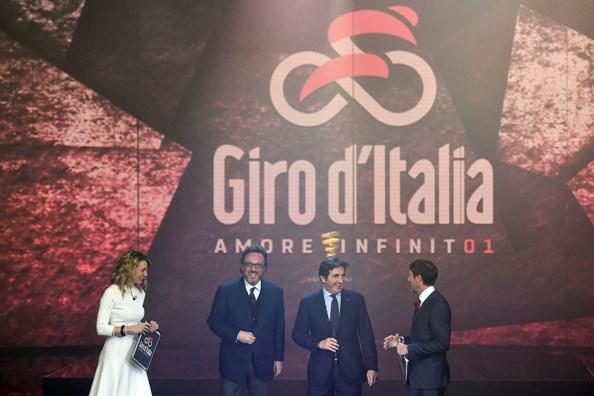 Presentazione del Giro d'Italia 2018
