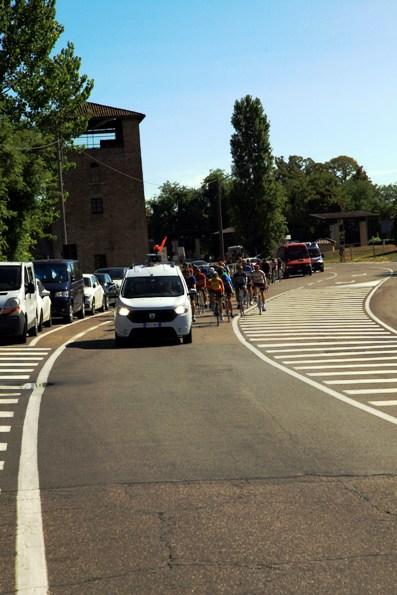 Il gruppo si prepara a transitare sul ponte di S  Giorgio