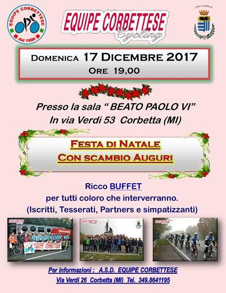 02.12.2017 - Locandina scambio auguri natalizi