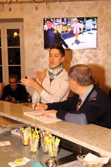 Petilli intervistato da Vito Bernardi (Foto Castelli)