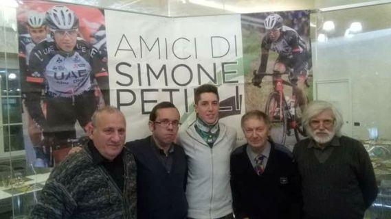 Da sx, Castelli, Giorgini, Petilli, Vito ed Eugenio