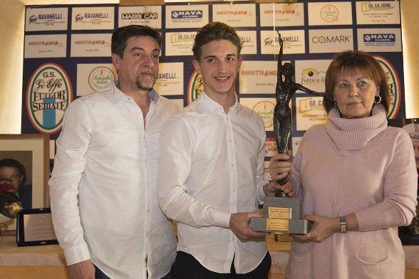 Premiazione di Davide Persico