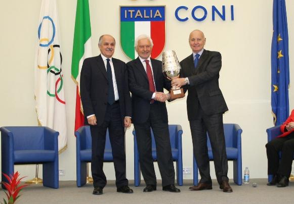 Da sx, Renato Di Rocco, Gianni Savio ed Enzo Ghigo