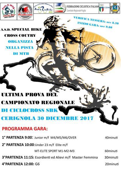 27.12.2017 - Cerignola Ciclocross 30122017