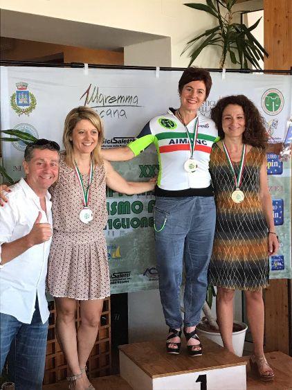 Chiara Castelli neo Tricolore  ciclisti forensi
