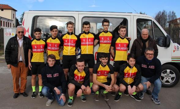 12.01.2018 – Garlasco (Pavia) – Il Gruppo Ciclistico Garlaschese tcon la stagione 2018 torna tra gli Under 23