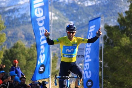 03.02.2018 – Cocentaina (Vuelta Valenciana) – 4° Tappa a Valverde che mantiene la leadership della corsa- Fotoservizio Jean Claude Faucher