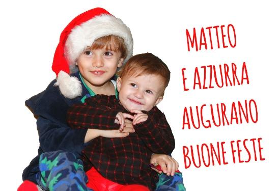 11.12.2018 – Buscate (Milano) – Da Azzurra e Matteo Buon  Natale a tutti (Foto di Antonio Pisoni)