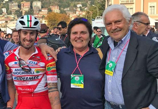 """26.10.2018 – Gravedona (Como) – Occhiali e Caschi Salice per il Team Tricolore d'Italia """"Androni Giocattoli-Sidermec"""""""