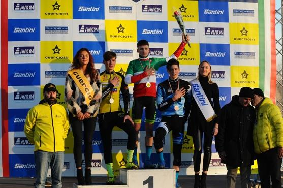 12.01.2019 – Milano Idroscalo – Allievi 2° anno il Campione Tricolore è il pugliese Ettore Loconsolo (Team Eurobike)