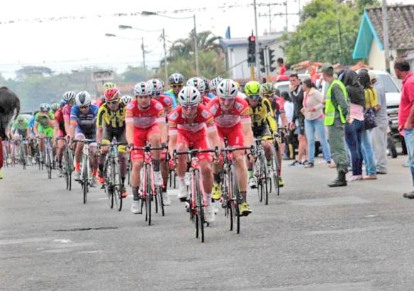 13.01.2019 – San Cristobal (Vuelta al Tachira/Venezuela) : Androni Giocattoli-Sidermec-Lauretana : Oggi tanto agonismo frenato dalla sfortuna
