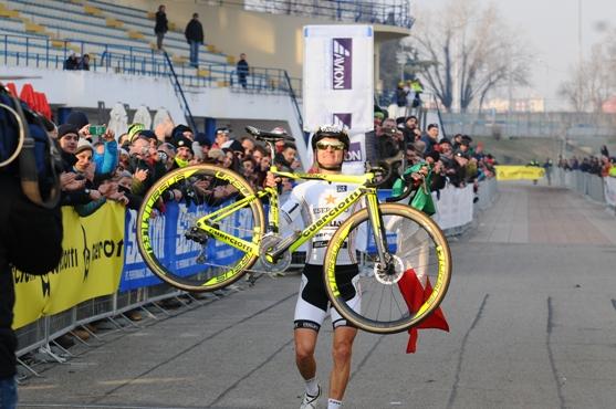 """13.01.2019 – Parco Idroscalo Milano – Campionato Italiano Ciclocross categoria """"Elite"""" – Fotoservizio di Silvestro Iannice"""