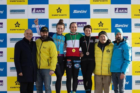 13.01.2019 – Idroscalo Milano – Campionati Italiani Ciclocross, Tutte le categorie Femminili – Fotoservizio di Silvestro Iannice