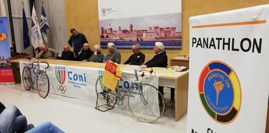 """14.01.2019 – Mantova – E' il Ciclismo ad aprire ufficialmente le manifestazioni per celebrare """"Mantova Capitale Europea dello Sport 2019"""