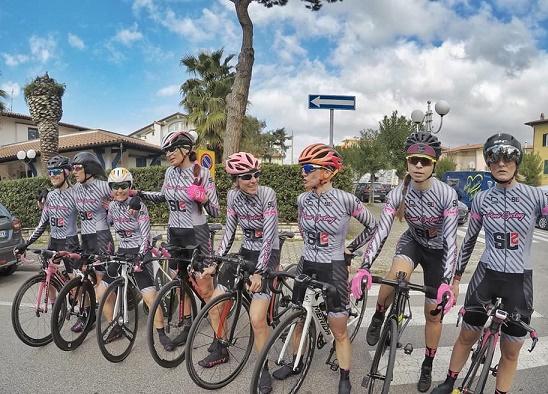 """17.03.2019 – Forte dei Marmi (Lucca) – Ciclismo Femminile : Cronosquadre della Versilia """"Cicloamatori"""" e """"Professioniste"""""""