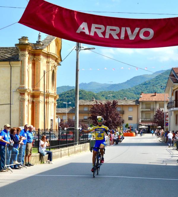 16.06.2019 – Paesana (Cuneo) – Juniores : Prima vittoria da Juniores per il parabiaghese Andrea Montoli (CC Canturino 1902)