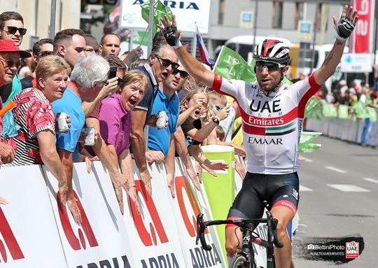 21.06.2019 – Idrija (Slovenia) – Giro di Slovenia : 3° tappa a Diego Ulissi che conquista anche la maglia di leader della corsa